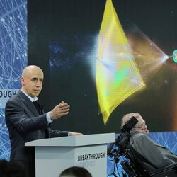 Yuri Milner and Stephen Hawking's Space Exploration Project Gets A New $100 Million Mission