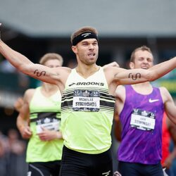 T-Mobile CEO John Legere Buys Ad Space On Shoulder Of Olympian Runner Nick Symmonds