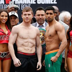 "Here's How Much Amir Khan And Saul ""Canelo"" Alvarez Will Make Tonight Fighting Each Other"