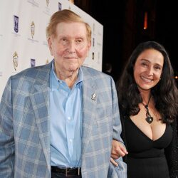 "Sumner Redstone's Ex Manuela Herzer Isn't ""Man"" Enough to Get His Millions"