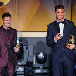 Cristiano Ronaldo And Lionel Messi Score Top Spots On Highest-Paid Athletes List