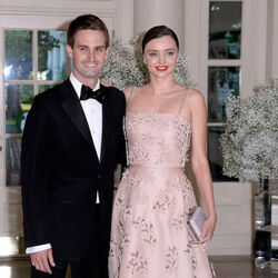 Evan Spiegel And Miranda Kerr Are Engaged!