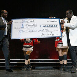 Diddy Donates $1 Million To Howard University