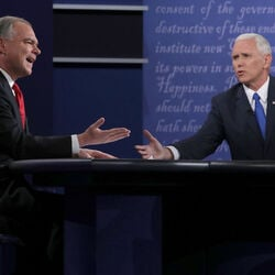 Comparing The Net Worths Of Mike Pence and Tim Kaine Ahead Of Tonight's VP Debate