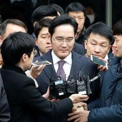 Samsung Heir Arrested On Corruption Charges
