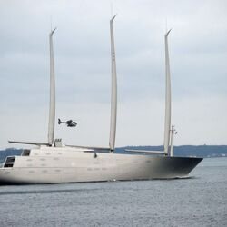 Andrey Melnichenko's Giant $400M Yacht Impounded By Gibraltar Port Authority