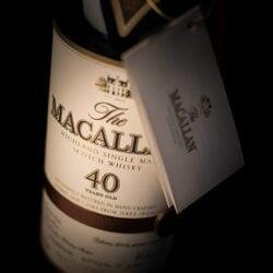 The Macallan 40: Limited Edition Sherry Oak Scotch Runs Eight Grand A Bottle