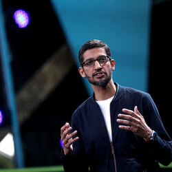 Google's Current CEO Sundar Pichai Made A TON Of Money Last Year