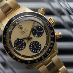Oyster Paul Newman Watch In Gold Sells For Millions–Becomes Most Expensive Rolex Daytona Ever Publicly Sold