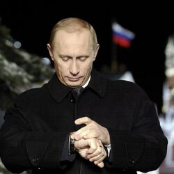 Russia Vehemently Denies That Vladimir Putin Is Auctioning Off A Super Expensive Watch