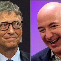 Jeff Bezos Was The Richest Human On The Planet For Six Hours, But Bill Gates Is Back On Top