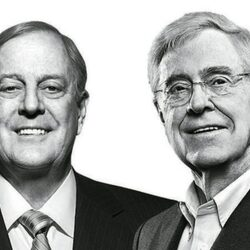 The Koch Brothers Have Been Secretly Investing In Hollywood Movies Like 'Wonder Woman'