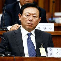 South Korean Billionaire Shin Dong-bin Going To Prison For Bribery