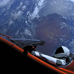 The Tesla Roadster Fired Into Space By Elon Musk Could Come Plummeting Back To Earth