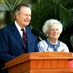 George H.W. Bush & Barbara Bush Net Worth
