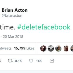 A Guy Who Made $5.5 Billion Selling His Company To Facebook Thinks Everyone Should Delete Facebook. Awkward!