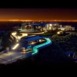 Take A Virtual Video Tour Of A Mid-Construction $500 Million Bel Air Mansion