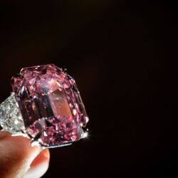 Pink Legacy Diamond Sells For Record $50 Million