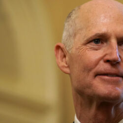 Rick Scott Spent A Record $63.6 Million Of His Own Money To Win His Florida Senate Seat