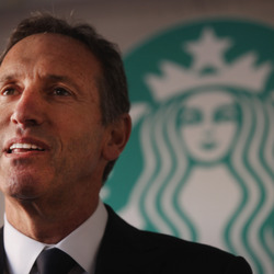 Raised Dirt Poor In A NYC Housing Project - Today Starbucks Tycoon Howard Schultz Is A Multi-Billionaire