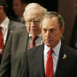 Michael Bloomberg Has Warren Buffett's Vote If He Runs For President