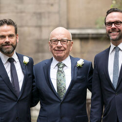 With Disney Deal, All Six Of Rupert Murdoch's Kids Become Instant Billionaires