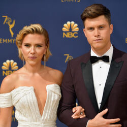 Scarlett Johansson & Colin Jost Net Worth
