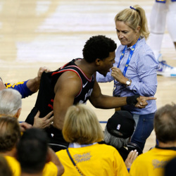 The Warriors Fan That Shoved Kyle Lowry Is A Part Owner Of The Team – And He Just Got A Major Punishment