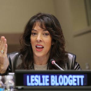 Leslie Blodgett Net Worth