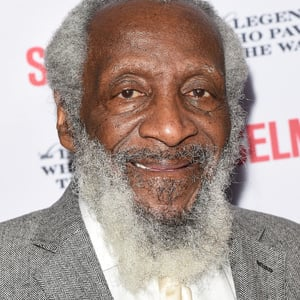 The 86-year old son of father (?) and mother(?) Dick Gregory in 2019 photo. Dick Gregory earned a  million dollar salary - leaving the net worth at  million in 2019