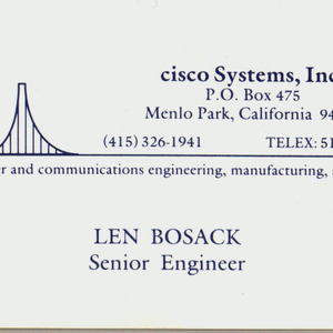 Leonard Bosack Net Worth