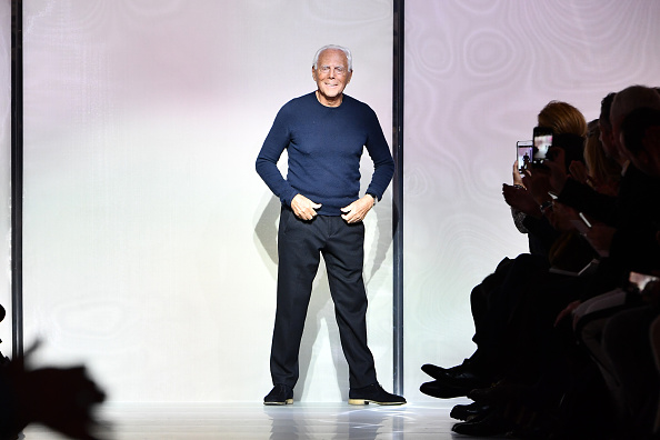 Giorgio Armani Fashion Designer Net Worth