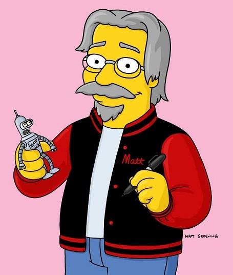 How much is Simpsons creator Matt Groening worth?