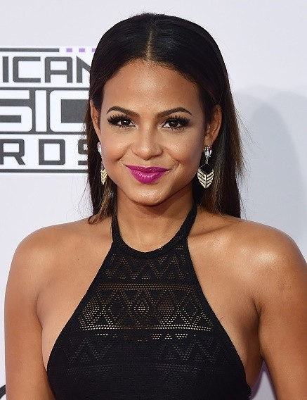 Who does christina milian date in Brisbane