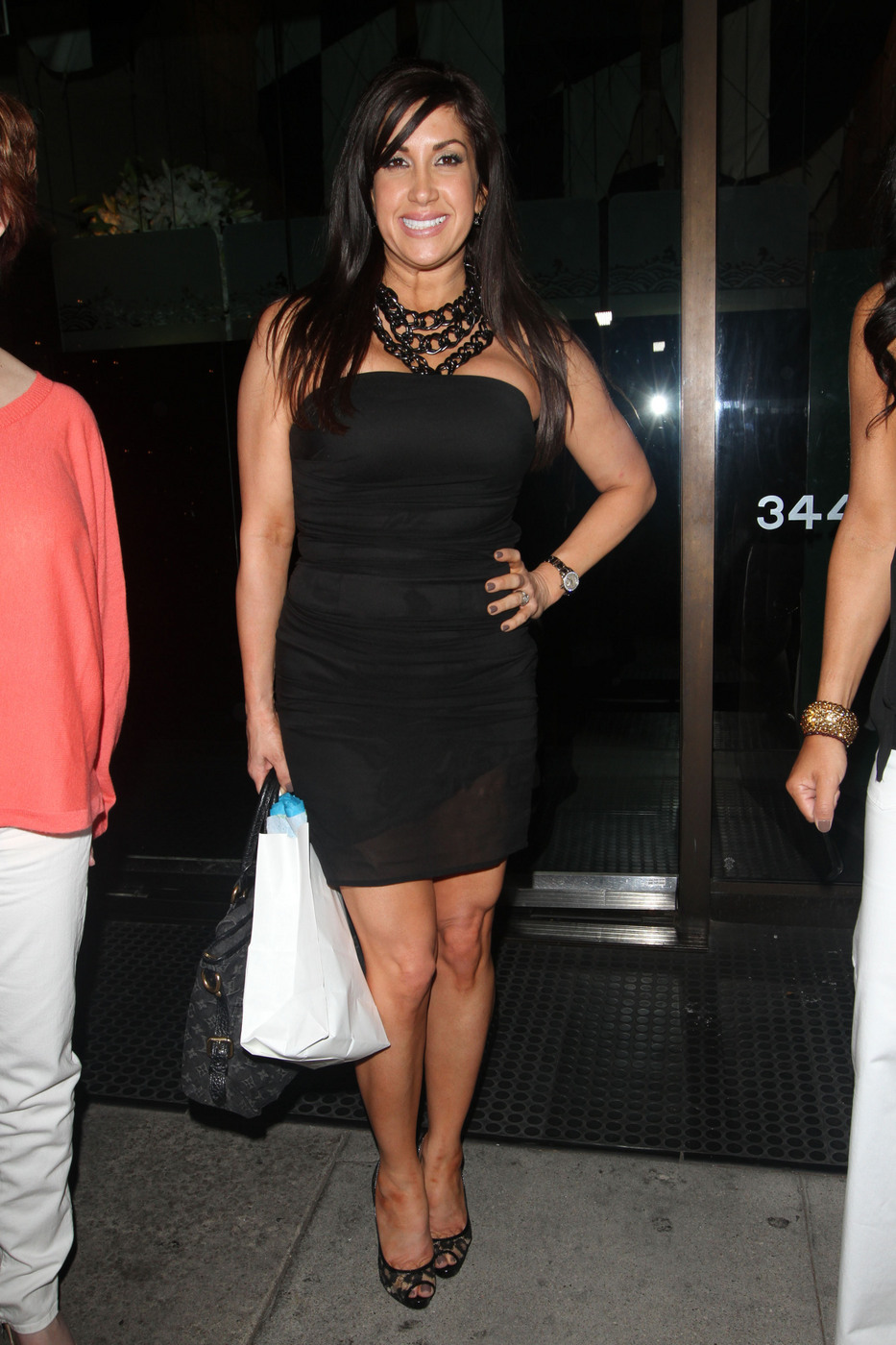 Jacqueline Laurita Black Dress