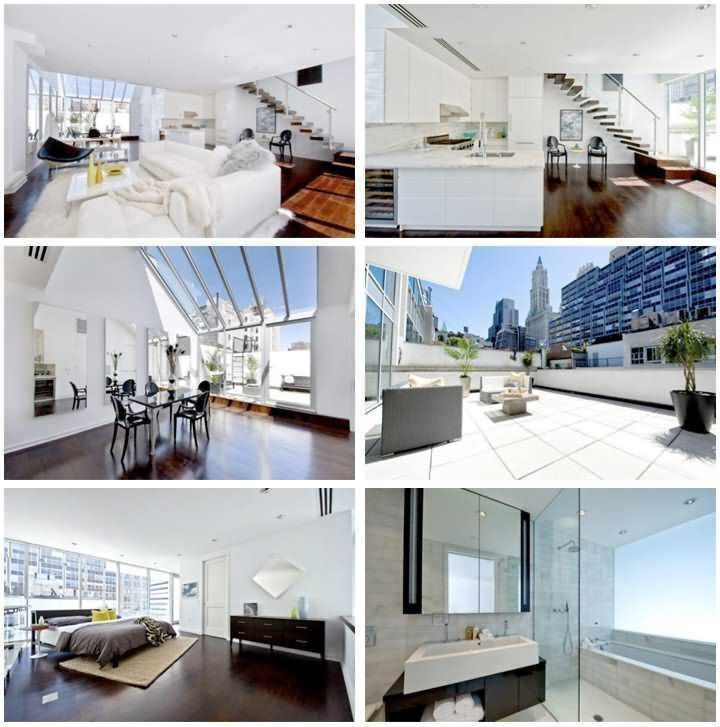 Daniel craigs house a 1 9m bond penthouse celebrity net for Celebrities homes in nyc