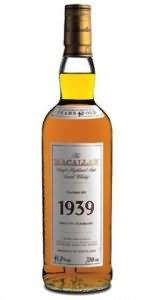 The Macallan 1939 40 year old Fine and Rare Collection