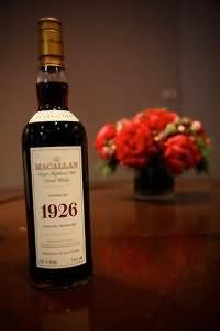 The Macallan 1926 Fine and Rare