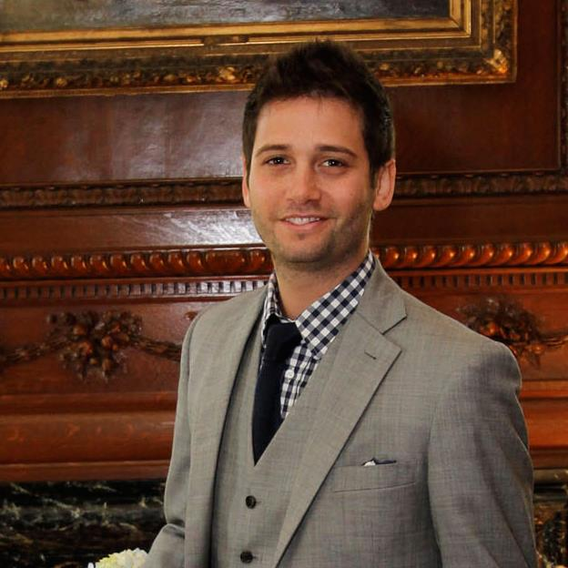 Josh Flagg suit and tie