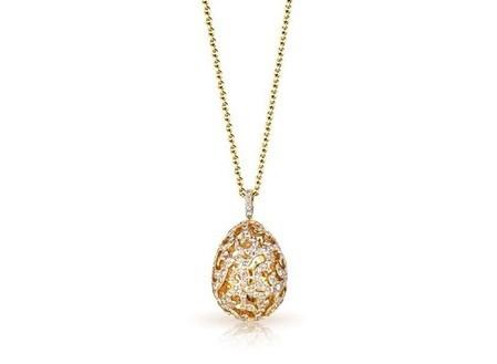 A Faberge Egg pendant