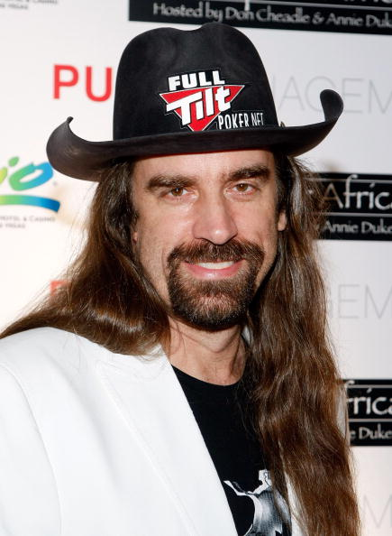 "Poker celeb Chris ""Jesus"" Ferguson"