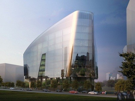 Lucasfilms Singapore Office inspired by Star Wars Sandwalker