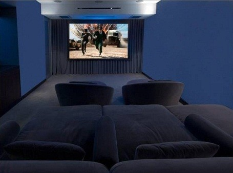 Matthew Perry's home theater