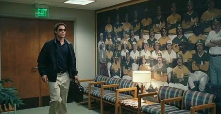 Brad Pitt looking cool in Moneyball