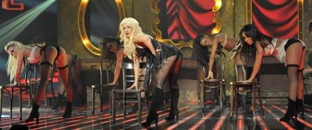 Christina Aguilera on X-Factor