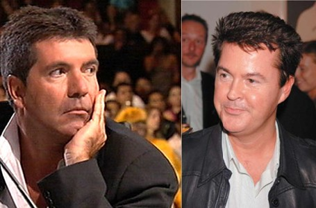 Simon Cowell and Simon Fuller