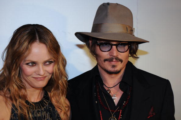 Depp and his long-time partner and baby-mama Vanessa Paradis