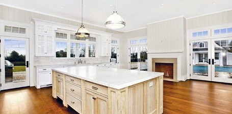 Jennifer Lopez's Hamptons mansion kitchen