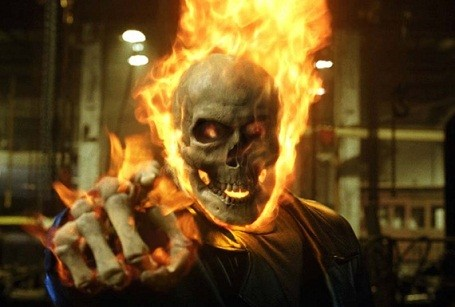 Nicolas Cage as Ghost Rider