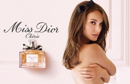 Natalie Portman for Miss Cherie Dior